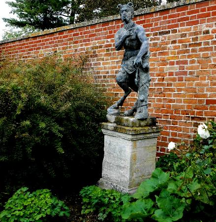 Painswick Rococo Garden: My favourite sculpture of Pan