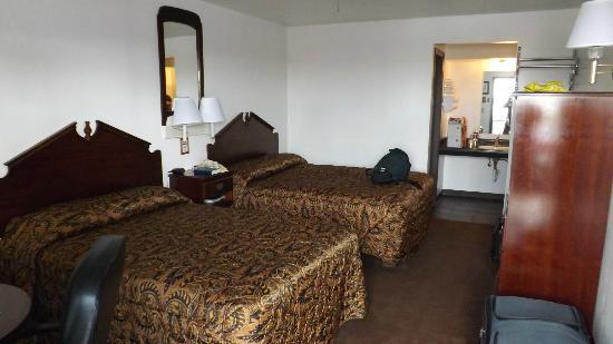Hinton Country Inn: Unser Zimmer