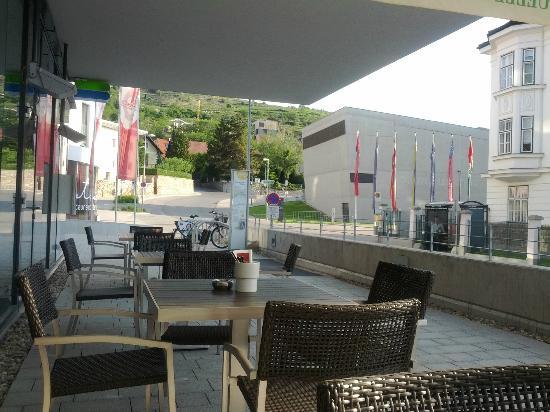 Arte Hotel Krems: Terrasse