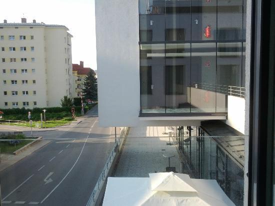 Arte Hotel Krems: Aussicht aus Zimmer