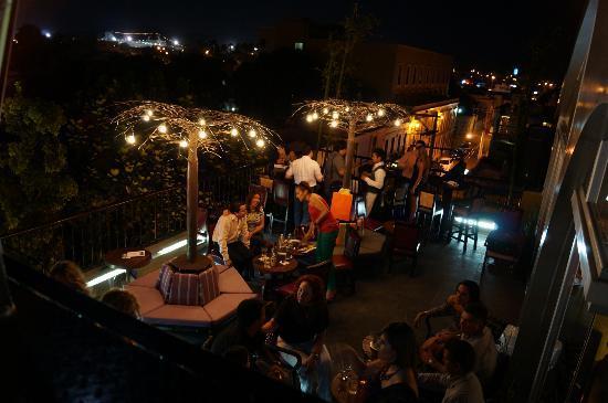 La Corteza Sky Bar: Vista Terraza
