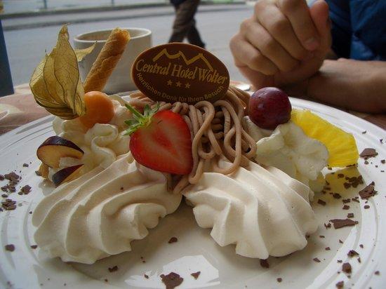 Central Hotel Wolter Restaurant : Bello e buono!
