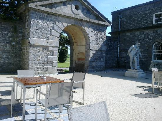 Carton House Hotel & Golf Club: The terrace next to the Kitchen house