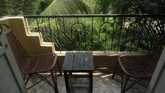 The Camelot Resort: Balcony