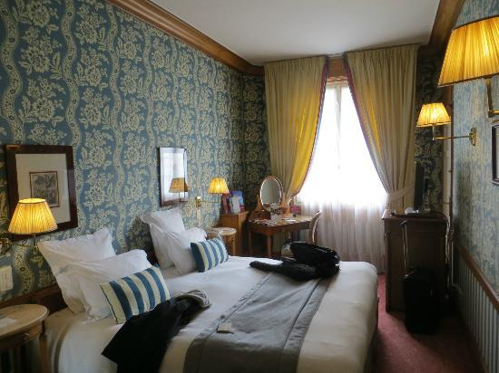 Hotel Barriere Le Normandy Deauville: Our room