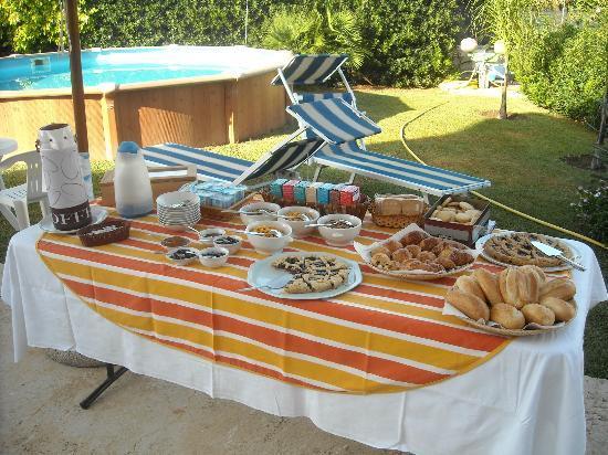 B&B Villa Trinacria: La Colazione