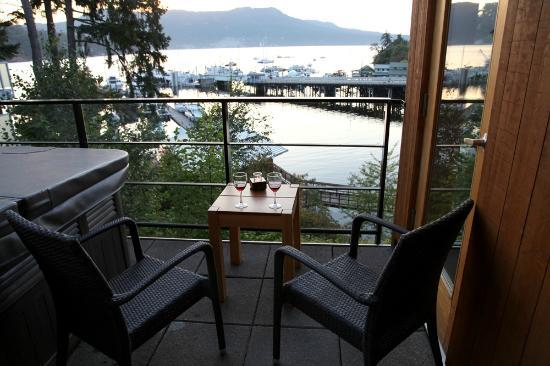 Brentwood Bay Resort & Spa: View from our Balcony