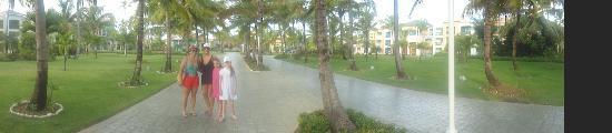 Ocean Blue & Sand: as ruas do hotel!