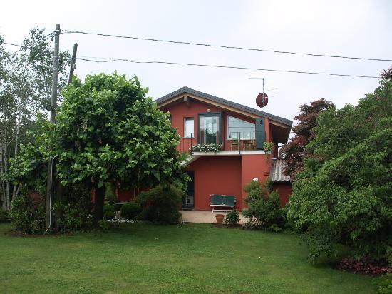 B&B La Collina: La Collina desde su jardín 