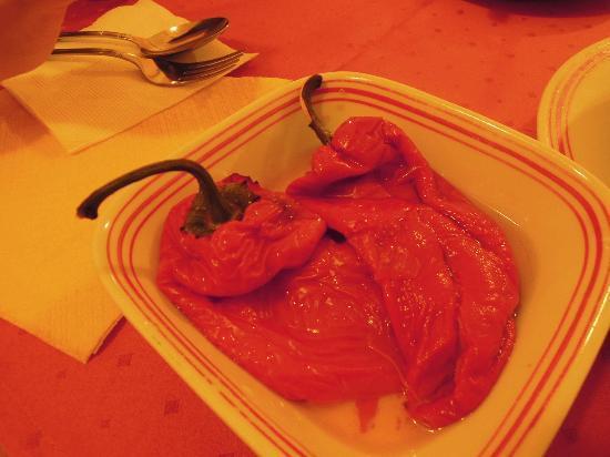 Grand Plaza: Pepper Salad, sweet & sour, yummy