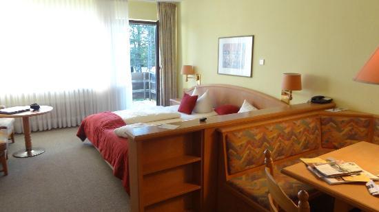 Sporthotel & Resort Grafenwald Daun Vulkaneifel: mijn kamer in het dorint hotel