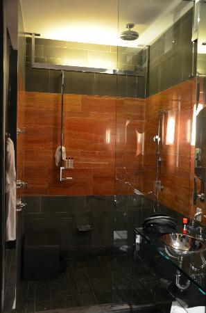 Andaz 5th Avenue: porn shower