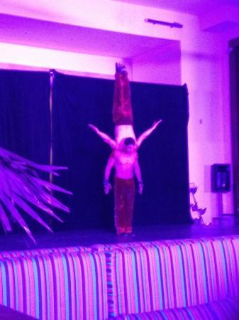 Fiesta Americana Condesa Cancun All Inclusive: circus show