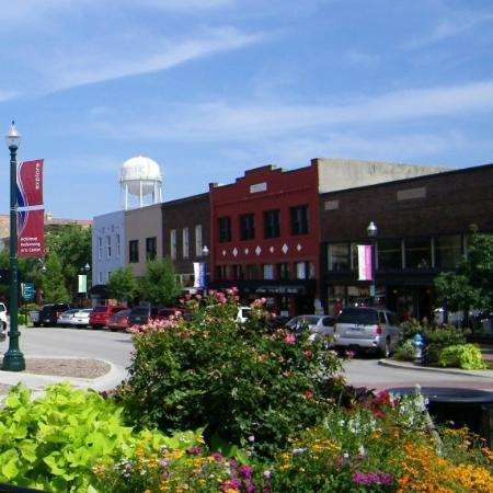 Historic Downtown McKinney: Picturesque Downtown McKinney TX
