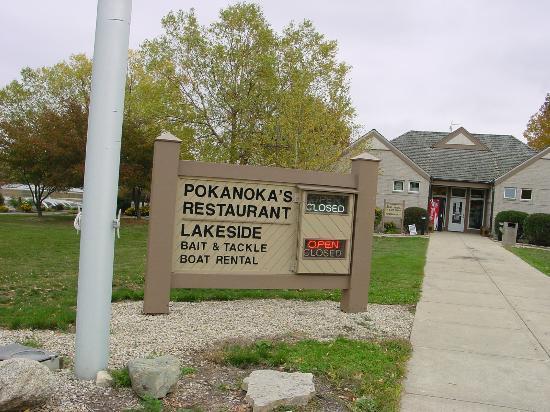 Shabbona Lake State Park: restaurant