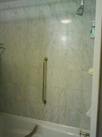 Grafton Capital Hotel: Shower/bath