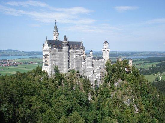 Slottet Neuschwanstein: Schloss Neuschwanstein