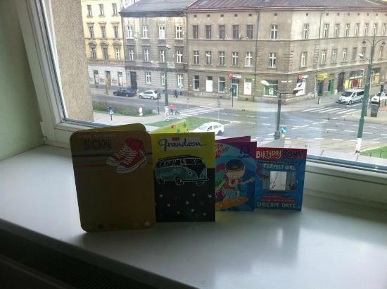 Aparthotel Globus : Birthday in krakow/view from room