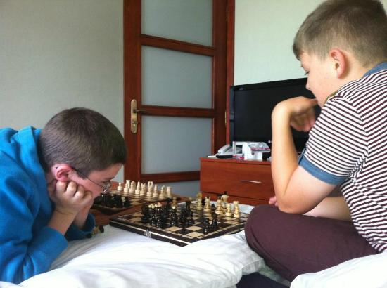 Aparthotel Globus : Room (and polish chess sets bought in old town)