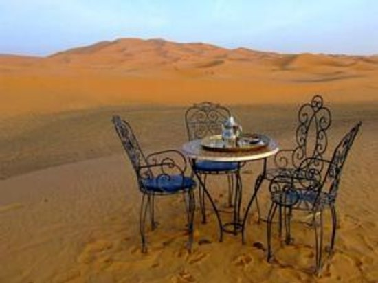 Kasbah Erg Chebbi : the best place in the desert ever