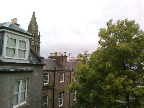 Best Western Plus Edinburgh City Centre Bruntsfield Hotel: Aussicht