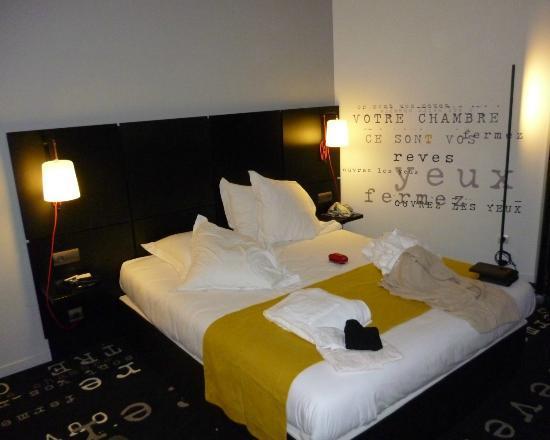 Kyriad Prestige Thionville Centre: nice bed