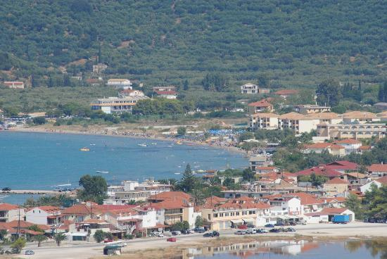 Alykes Garden Village: View of Alykes on our quad bikes trip