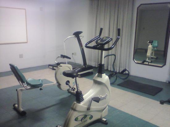 Hotel Columbia : sala de gisnástica