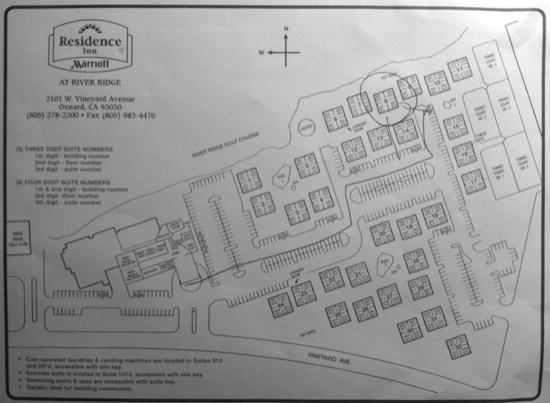 Residence Inn Oxnard River Ridge: Lageplan