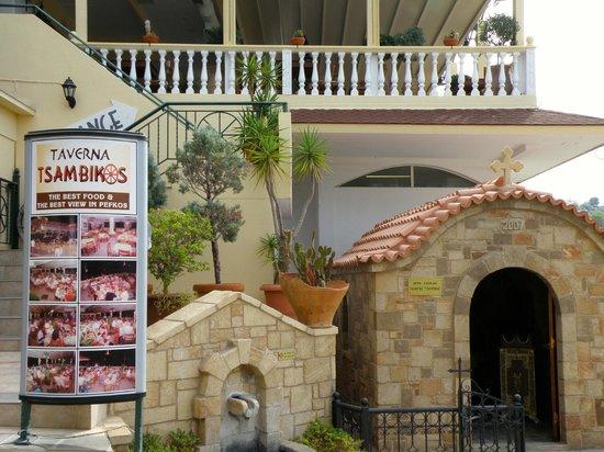 Restaurant Tsambikos : Taverna Tsambikos, Pefkos - delicious!