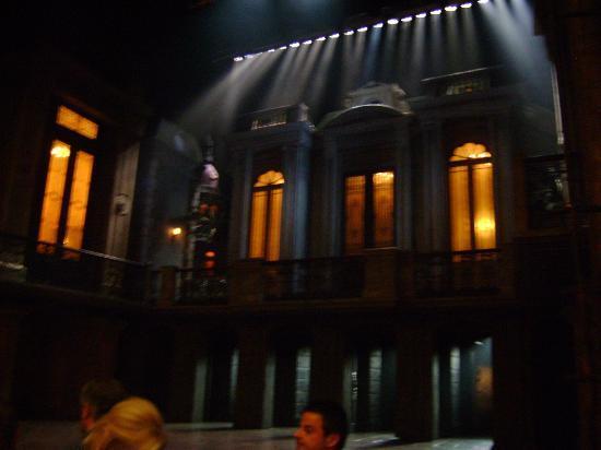 Marquis Theatre: Escenografía