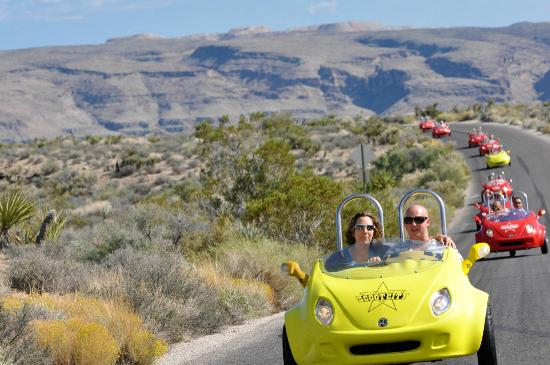 Scoot City Tours: Tour of Red Rock Canyon