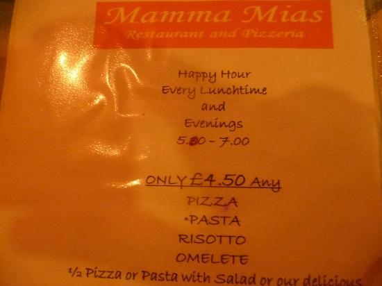 Mamma Mia: Offer