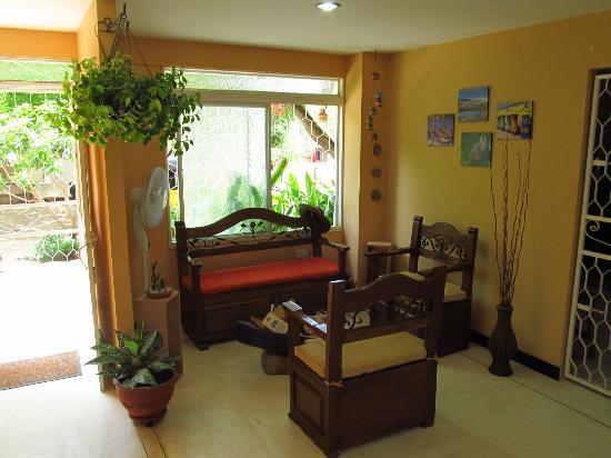 Hotel Casa D'mer Taganga : Sala recepción/Hall Reception