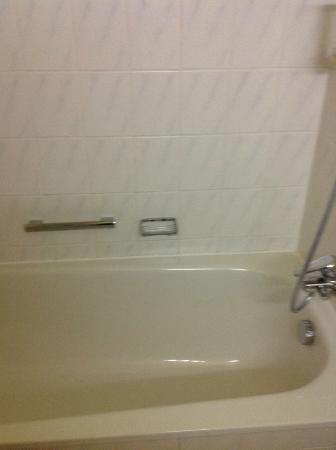 Räter-Park Hotel: Bathtub
