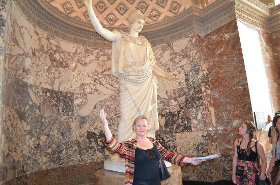 THATLou, Treasure Hunt at the Louvre: Ta da!