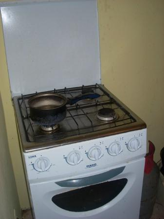 Kia's Across from The Beach: stove