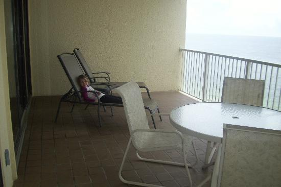 Summer House on Romar Beach: View of Balcony