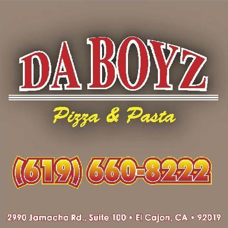 Da Boyz Pizza and Pasta: Da Boyz Logo