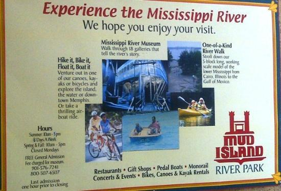 Mississippi River Museum at Mud Island: Mudd Island Poster