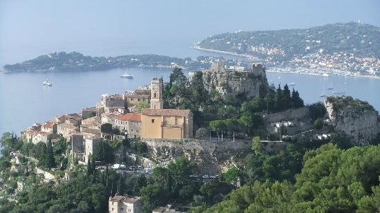 Domaine Pins Paul: How about that for a view? Eze from our room