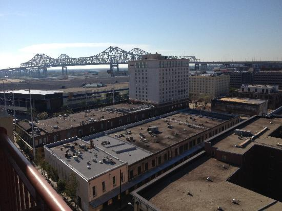 Embassy Suites by Hilton New Orleans - Convention Center: View from our room