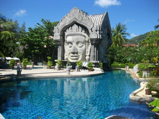 Phuket Orchid Resort & Spa: pool området på den side hvor vi boede !!