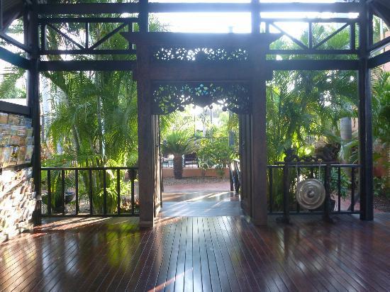 บาลีไฮรีสอร์ทแอนด์สปา: Entry to resort
