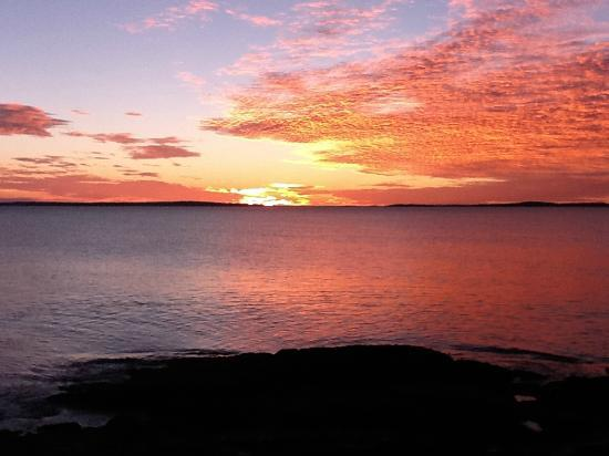 Beloin's on the Maine Coast: Sunrise on October 2, 2012