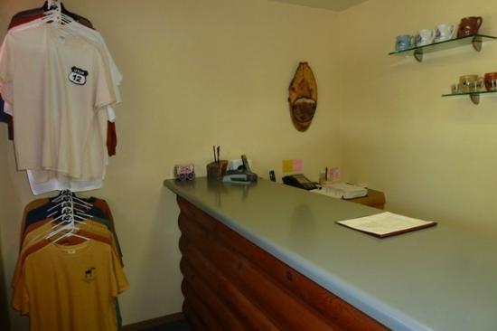 Austin's Chuckwagon Lodge and General Store: LOBBY
