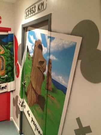 Cool & Bed: Porta dos quartos
