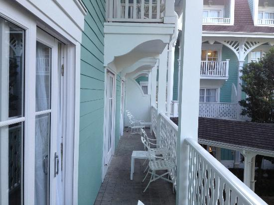 View Of Balcony Picture Of Disney 39 S Beach Club Villas Orlando Tripadvisor