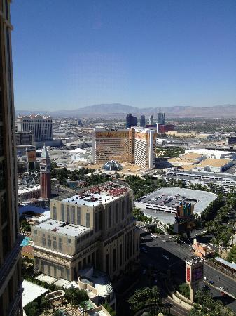 The Palazzo Resort Hotel Casino: View to the South