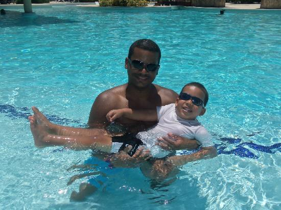 Grand Palladium Punta Cana Resort & Spa: me and my son